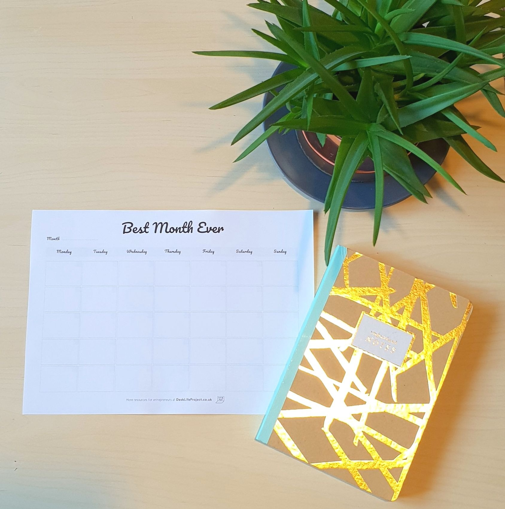 Best Month Ever Planner