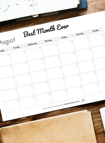 How to plan a month that prioritises your life goals
