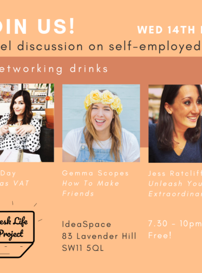 Join us at our first London event!